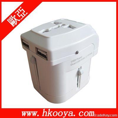 USB Universal Travel Adapter, Travel adaptor