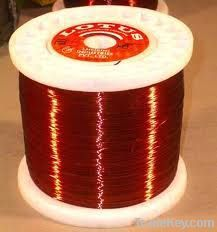 Winding copper wire with enamel insulation