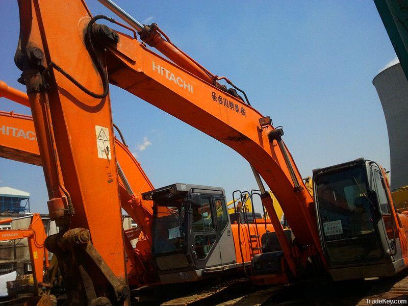 used HITACHI excavator ZX210LC