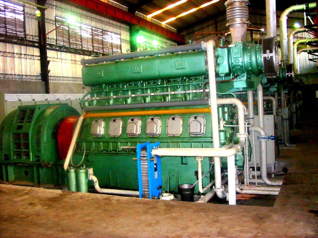 1000kw And 2000kw Diesel Generator 4mw 12mw Used Diesel