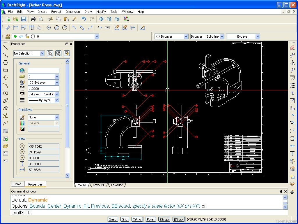 Microsoft software cad software free for Online cad drawing software