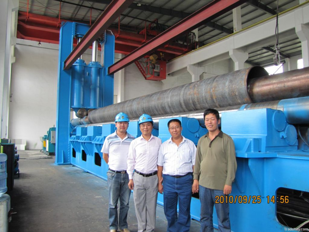 HDLW11G Hydraulic rolling machine for oil and gas pipe | www ...