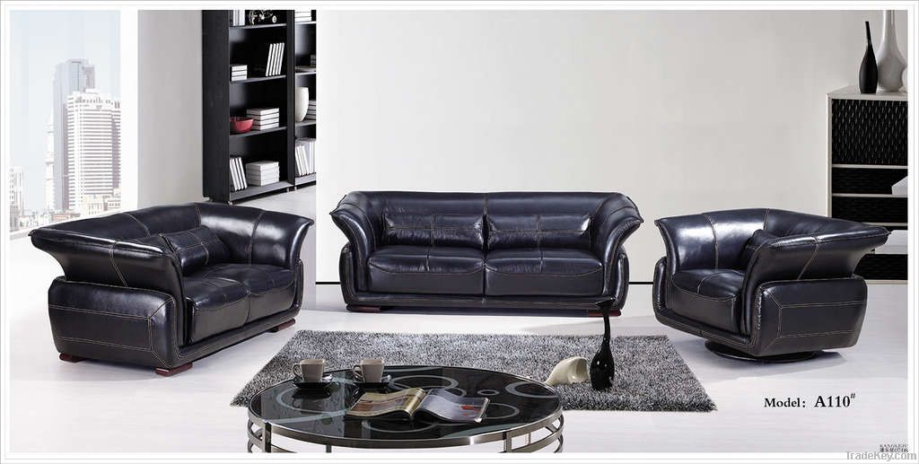 High Quality Sectional Leather Sofa Factory Offer A110 By