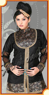 Designer Indian Kurtis, Bollywood fashion Tunics and Cotton Kurtas