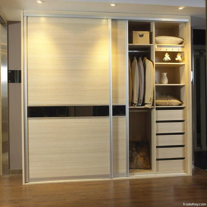 morden slide door wardrobe by jingzhi house ware co