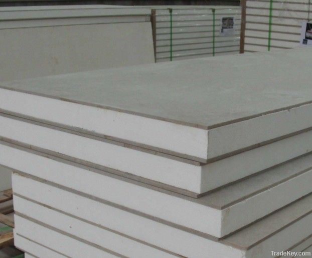 Cement Board Panels : Eps fiber cement board sandwich wall panel by ningbo yihe