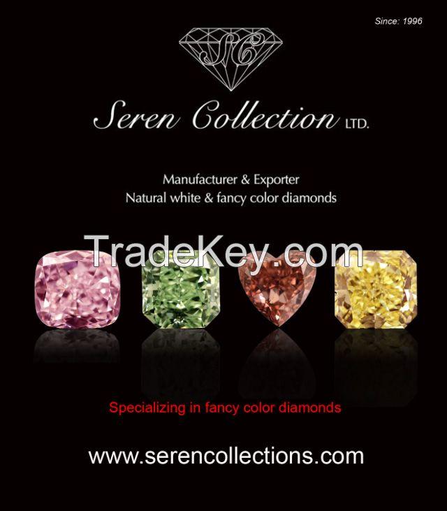 Loose Diamonds-Natural fancy color diamonds