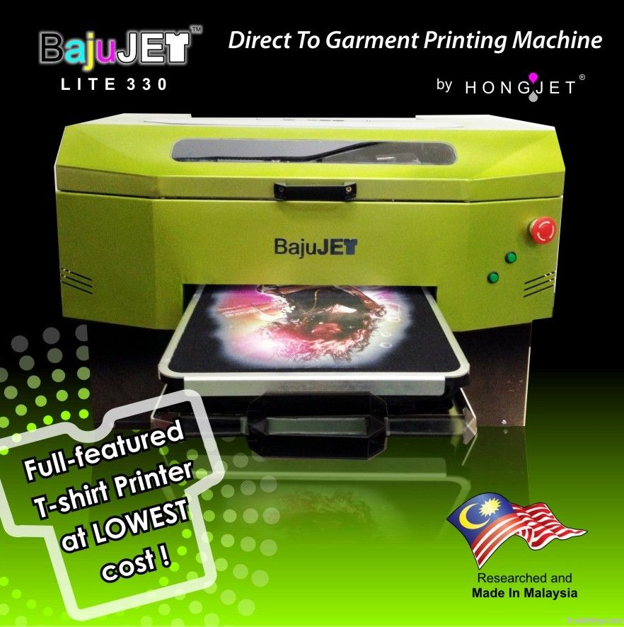 Bajujet Direct To Garment Printer By Hongjet Technology