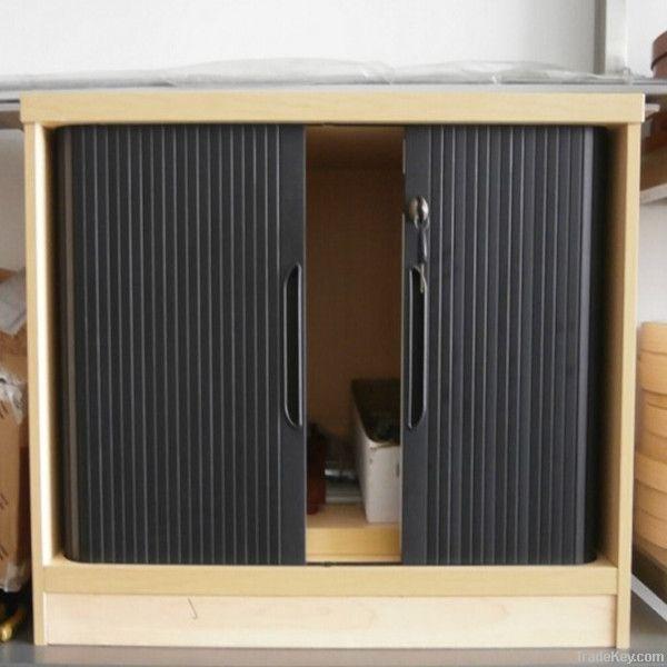 pvc roller shutter for cabinet door, kitchen cabinet rolling ...