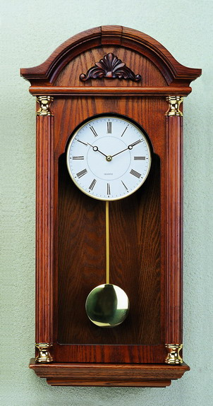 Pendulum Wooden Wall Clock In Box Design By Redwood Wooden Crafts