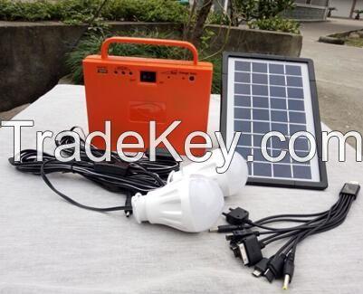 solar home lighting system kit
