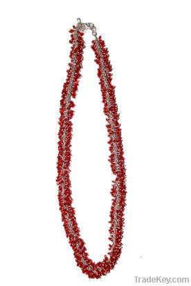 Glass beaded Necklaces