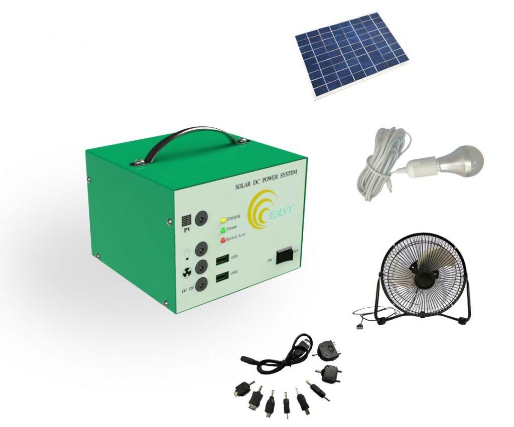 solar DC power system