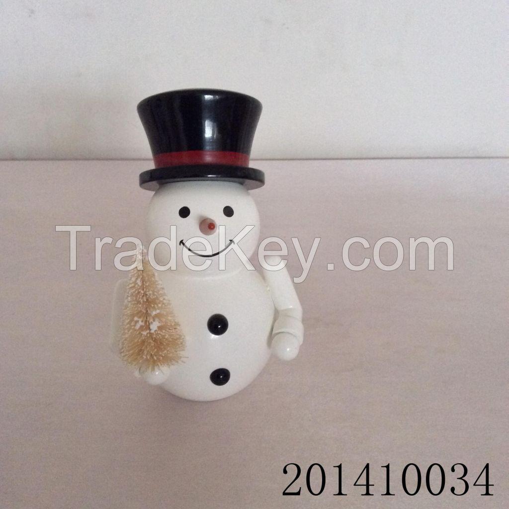 Wooden Snowman
