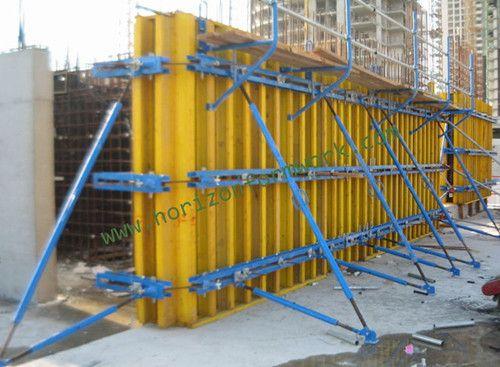 wall formwork, concrete formwork, h20 formwork, vertical formwork