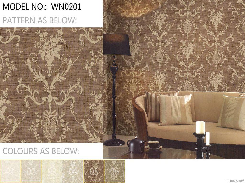 2012 the latest design designer wallpaper catalogue home - Unique wallpaper for home ...