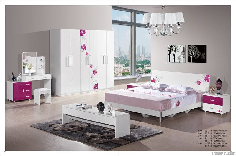 mirrored white high gloss mdf bedroom furniture
