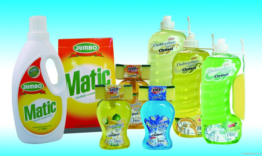 Washing Powder/Dishwashing Liquid