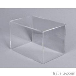 Clear Acrylic Five Display Box