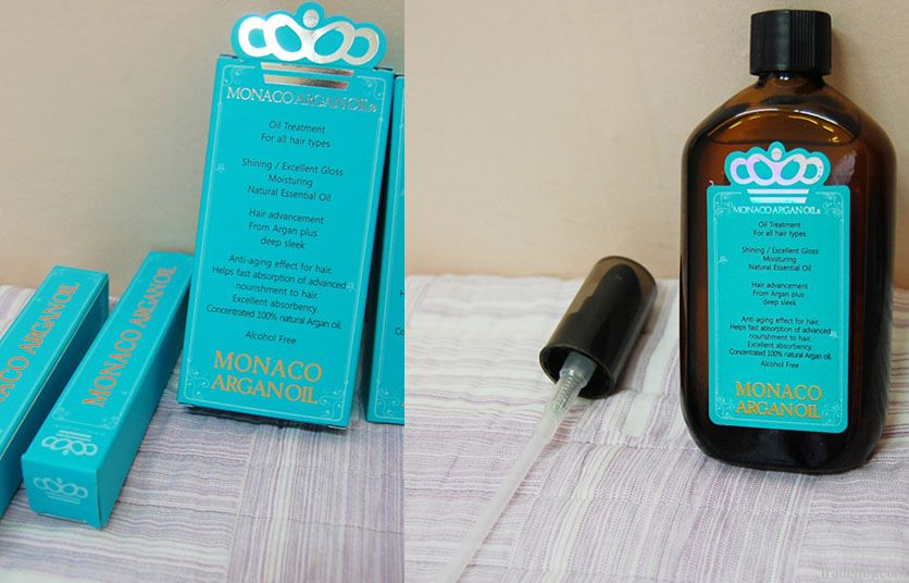 Monaco Argan Oil