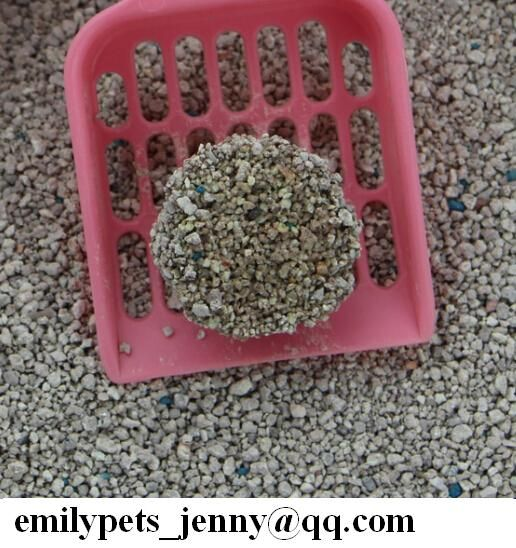 ODD-SHAPED Bentonite cat litter from China Emily pets