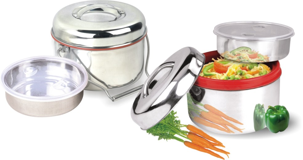 Stainless steel hot pots(caserolles)