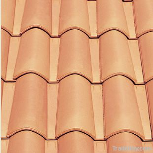Spanish Ceramic Clay Mixed Roof Tile