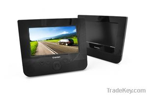 Portable Twin 7-inch Screen DVD Player