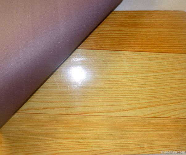 wood look like plastic flooring cover by xinle city vast pla