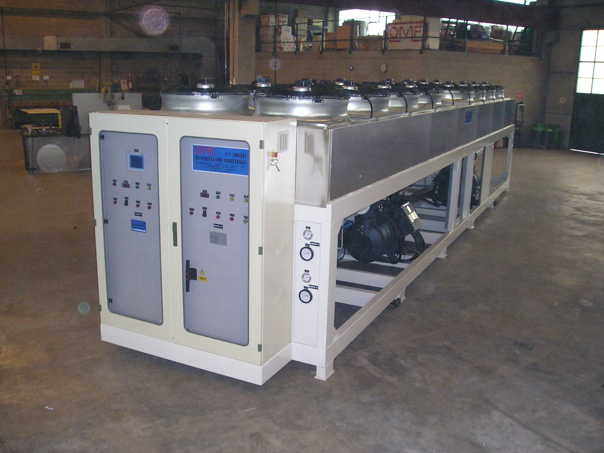 industrial refrigeration manufacturing Shining fish technology, the pioneer in industrial refrigeration technologies customized solutions of industrial equipment and systems, specially for you.