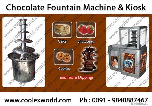 Automatic chocolate fountain
