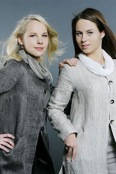 Stylish Linen Jacket