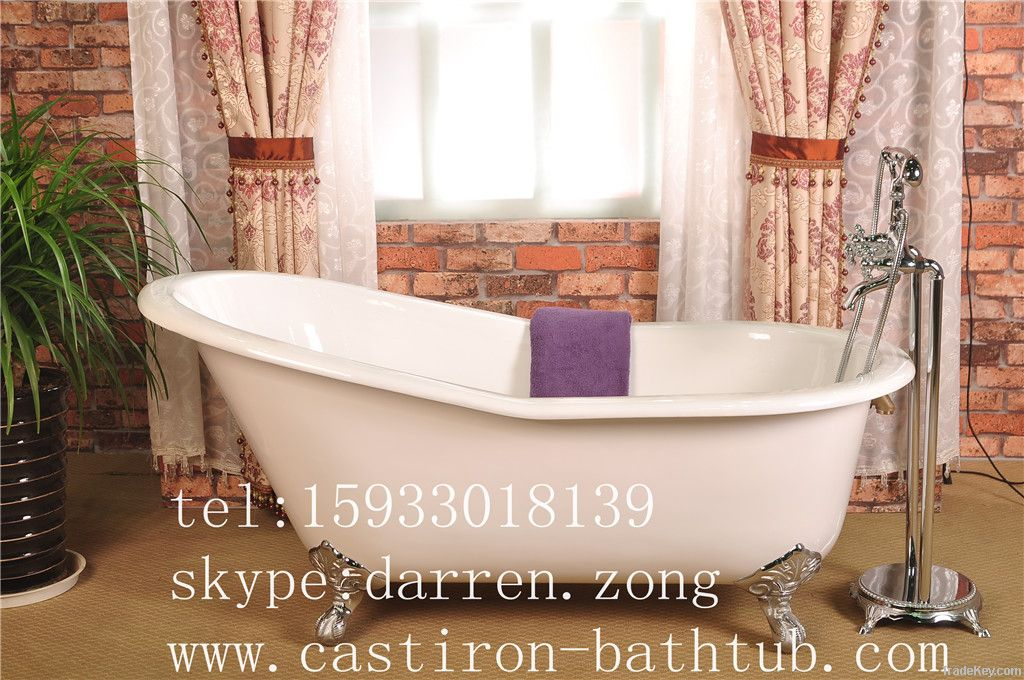 cast iron slipper clawfoot bathtub by anping sunshine sanita