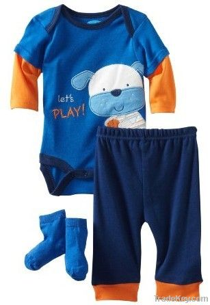 Newest children clothing set 2013 collection