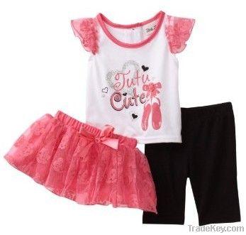 2013 100% korean cotton baby clothes, girl clothes, child clothes
