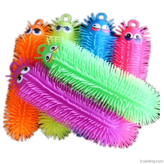 Puffer Ball Toys : Worm puffer ball stress toy by fun