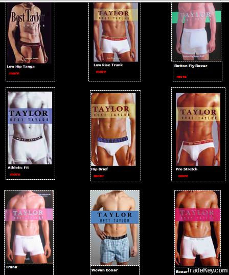 Men's Branded Underwear
