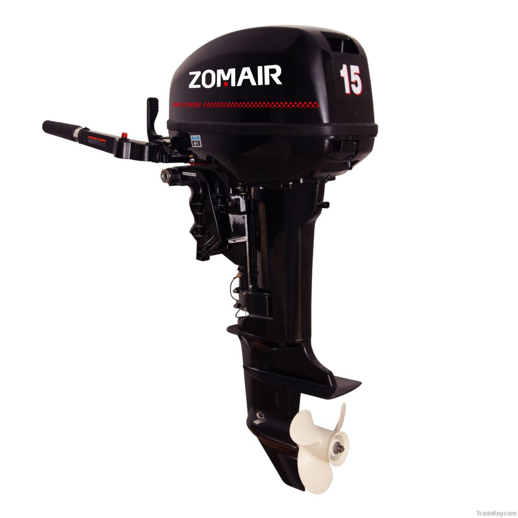 2 stroke 15hp outboard motor by hubei zoma power Two stroke outboard motors