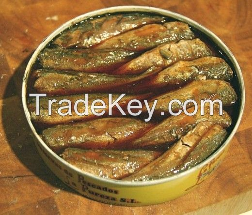 Canned Seafood Canned mackerel