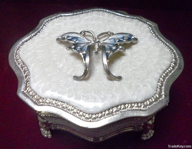 Alloy Jewellry box