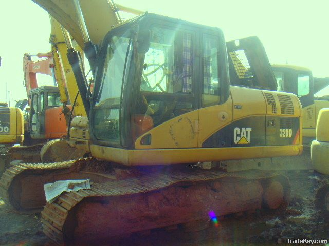 Second Hand CAT 320D Excavator, Caterpillar Excavator