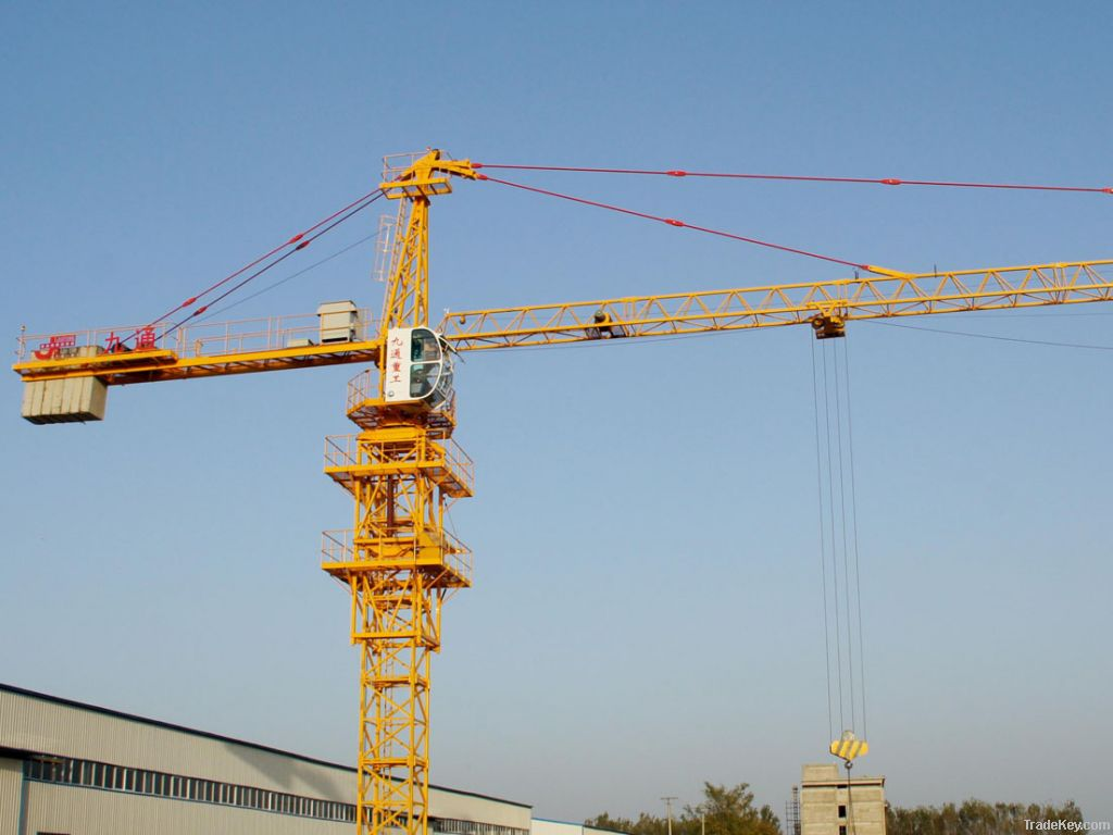 How are Tower Cranes Built?