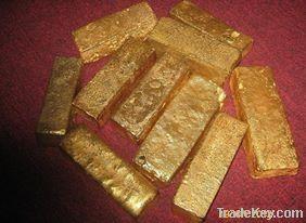 Au Gold Dust, Gold Powder, Unrefind Gold Bars