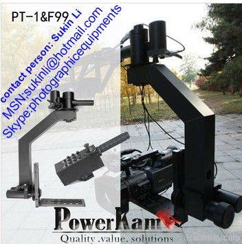 Pt 1 motorized camera mount for a video jib crane with for Motorized video camera mount