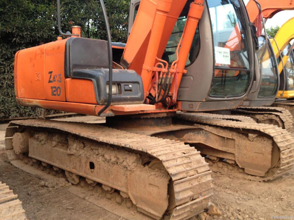 Used Excavator Hitachi ZX120