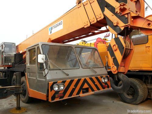 Used cranes tadano tg500e used motor graders caterpillar for Motors used in cranes