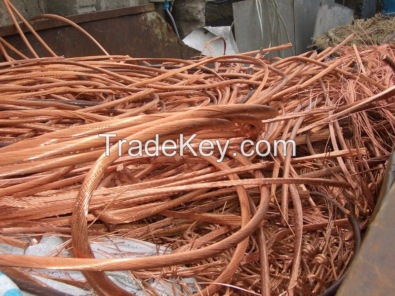 We offer Copper Wire Scrap (Purity : 99.99% ) at Euros Ã��Ã�¢Ã�¯Ãï&iqu