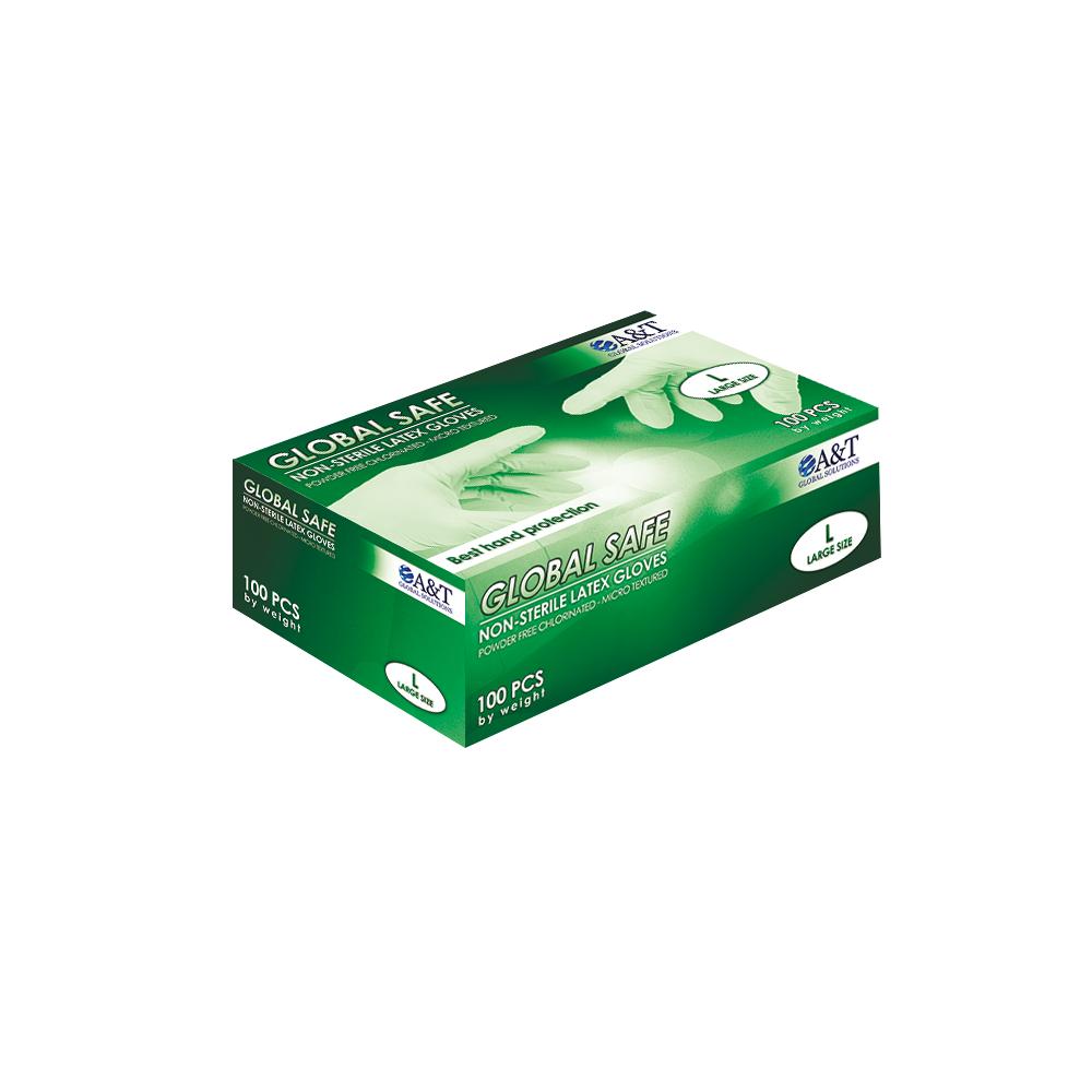 Latex Gloves - Chlorinated Powder Free