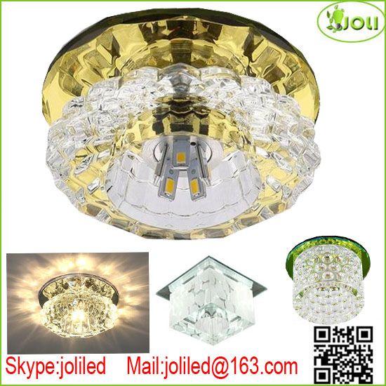LED Crystal Ceiling Lamp (G4 lamp LED)