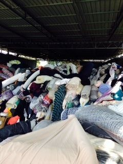Remaining Textile Clothes in Bulk
